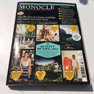 MONOCLE Focus on Food Edition