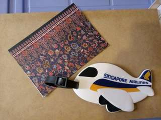 新加坡航空 Singapore airlines 行李牌