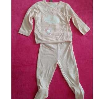 BN Mothercare Baby Girl Pajama set