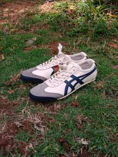 ONITSUKA TIGER MEXICO 66 DELUXE CREAM NAVY UNISEX MADE IN JAPAN