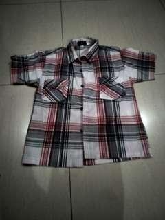 Jes&Jeg Checkered Polo shirt