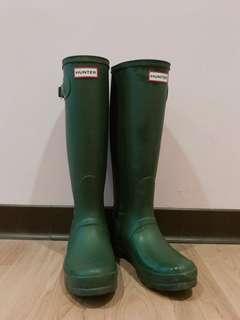 🚚 Hunter Women's Original Tall Hunter Green Boot 10