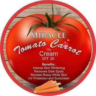 Miracle tomato carrot cream