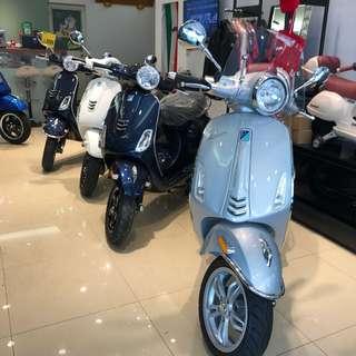 Vespa-125/150/300低月付!輕鬆購