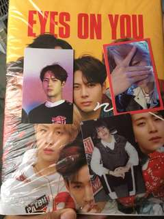 GOT7 EYES ON YOU PHOTOCARDS (P250 EACH)