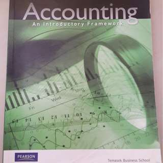 Accounting - An introductory framework