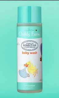 Child's farm body wash