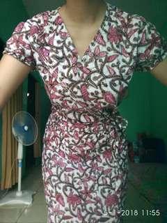 Batik Dress Formal Casual