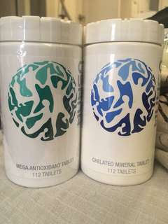 USANA Essentials - Chelated Mineral and Mega Antioxidant