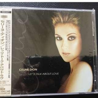 Celine Dion let 's talk about love