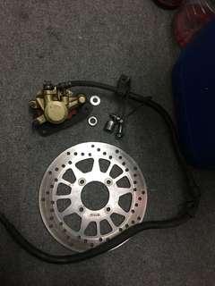 Pump caliper disc yamaha lc 4s