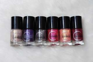 Catrice Crushed Crystals Nail Polish Collection