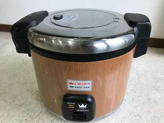 6.0L Rice Cooker (Crown)