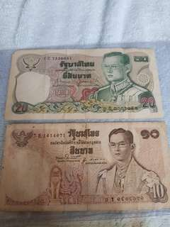 $30 Thailand money