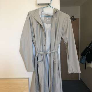 RAINS jacket grey