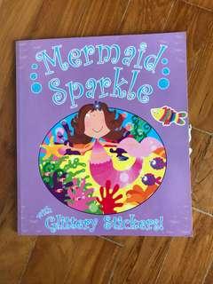 Mermaid Sparkle sticker book