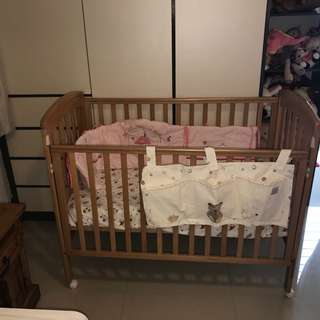 Mothercare Bedside Cot for baby