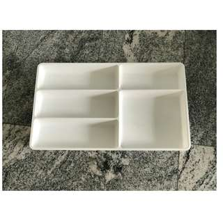 ikea white drawer compartments