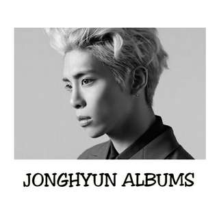 JONGHYUN ALBUMS