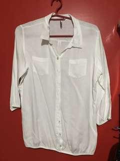 White polo (with garter)