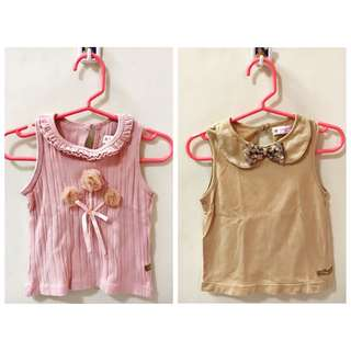 Bundle Peppermint Blouses for 1-2 year old