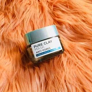 L'Oreal Pure Clay Anti Pores Mask