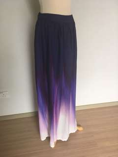 Zalia Ombré maxi skirt