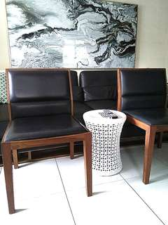 BNEW 1x AIR DIVISION Lounge Chairs (2 AVAIL)(cb2 xtra om)