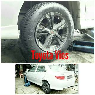 Tyre 175/65 R14 Membat on Toyota Vios 🐕 Super Offer 🙋‍♂️