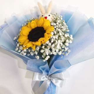 [PRE-ORDER for 2 - 10 May Weekdays Collection ONLY] GRADUATION BOUQUET