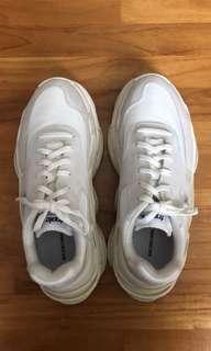 Balenciaga Triple S White Ecru