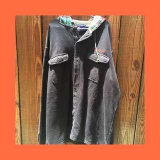 Vintage Polo Sport Ralph Lauren Jacket (plaid flannel hood)