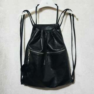 Zara drawtring bag