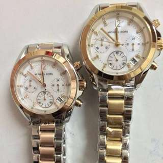 MK TWO TONE AUTHENTIC WATCH