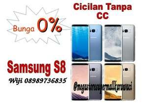 Samsung S8 promo bunga nol persen tanpa kartu kredit