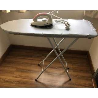 Brand NEW Panasonic Iron and Ironing Board