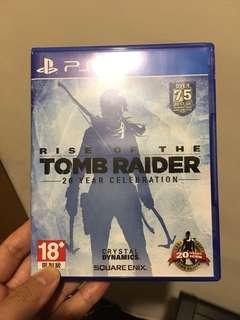 🚚 PS4 古墓奇兵:崛起 20週年紀念版 9成9新