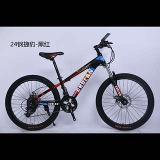 "24"" 24 Speeds CROLAN Mountain Bike / MTB ☆ Disc brakes, front suspension ☆  Brand new bicycles"