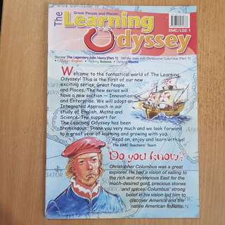 The Learning Odyssey (4)