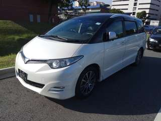 Toyota Estima 2.4A 8 Seaters for Grab/Ryde Usage
