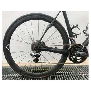 Roval CLX 40 Disc wheelset (from SWORKS Roubaix)