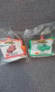 Mcdonald happy meal toys - Mcsurprise Rides yr1998