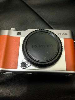 Fujifilm xa5 like new Body only