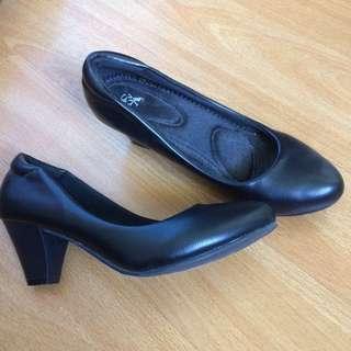 Formal Office Black Shoes