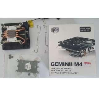 CoolerMaster Geminii M4 Low Profile Heat Sink Fan