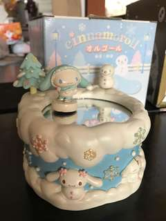 Cinnamoroll Winter Musical Box