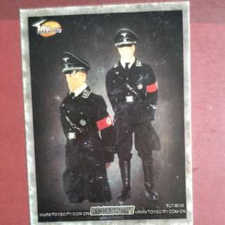 Toys City scale 1:6 WWII German SS Officer Parade Uniform (Kit-Bashed)