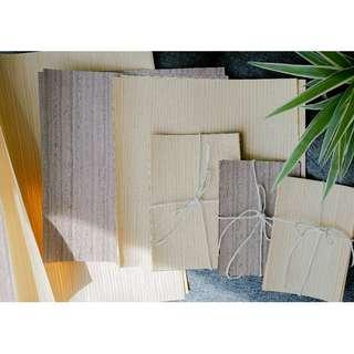 Wood Veneer Craft Paper