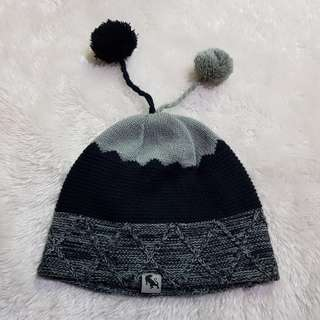 Knitted Shades of Gray beanie