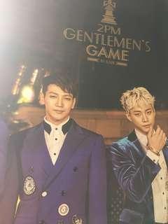 2pm gentleman's game 海報 poster 勁大